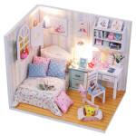 Кукольный домик-конструктор, сделай сам Комната Анабель
