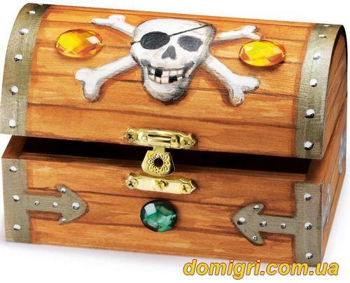 Роспись - Сундук пиратских