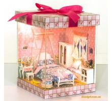 3D конструктор DIY House Подарок дорогому другу (D004)