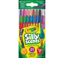 Выкручивающиеся ароматизированные восковые мелки, 21 штука (52-9621 Crayola)