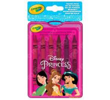 Набор восковых мелков с раскрасками, Disney Princess (04-0438 Crayola)