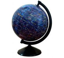 Глобус 260 мм Зоряне небо, лакований, укр (Інститут ПТ)