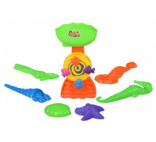 Набор для игры с песком Same Toy с Мельницей 7 шт HY-1702WUt