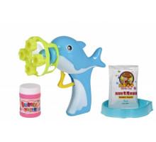 Мильні бульбашки Same Toy Bubble Gun Дельфін блакитний 802Ut-1