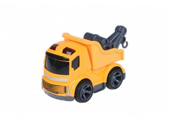 Машинка Same Toy Mini Metal Стоительная техника-самовал с краном SQ90651-1Ut-3