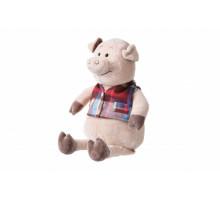 Мягкая игрушка Same Toy Свинка в жилетке 45см THT722