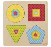 Пазл многослойный goki Геометрические фигуры 57705G