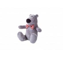 Мягкая игрушка Same Toy Полярный мишка серый 13см THT665