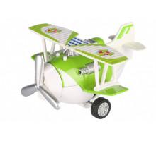 Самолет металический инерционный Same Toy Aircraft зеленый SY8013AUt-4