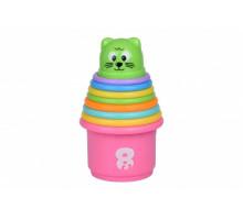 Набор для игры с песком Same Toy Piles cup 9 ед 618-8Ut
