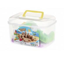 Чарівний пісок Same Toy Omnipotent Sand Замок 0,5 кг (бузковий) 12 од. HT720-2Ut