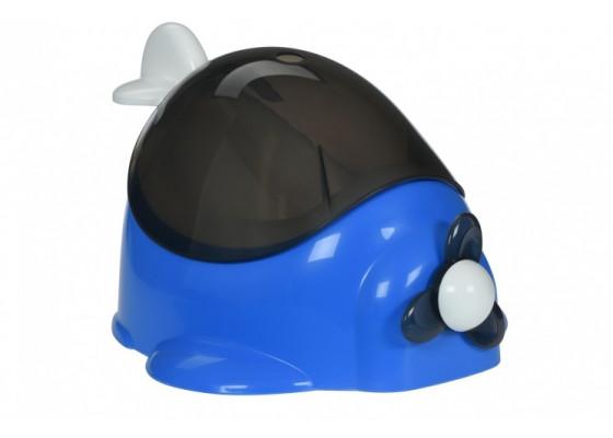Детский горшок QCBABY Самолет синий QC9905blue