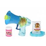 Мыльные пузыри Same Toy Bubble Gun Рупор со светом синий  925AUt-3