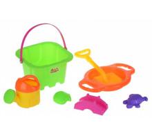 Набор для игры с песком Same Toy 7 шт зеленый HY-1143WUt-2