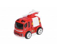 Пожежна машина Same Toy Mini Metal з брансбойтом SQ90651-4Ut-1