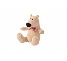 Мягкая игрушка Same Toy Полярный мишка бежевый 13см THT664