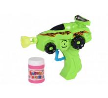 Мильні бульбашки Same Toy Bubble Gun Машинка Зелена 701Ut-1