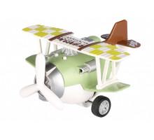 Самолет металический инерционный Same Toy Aircraft зеленый SY8016AUt-2