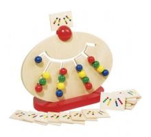 Розвиваюча гра goki Різнокольорові кульки 58970G
