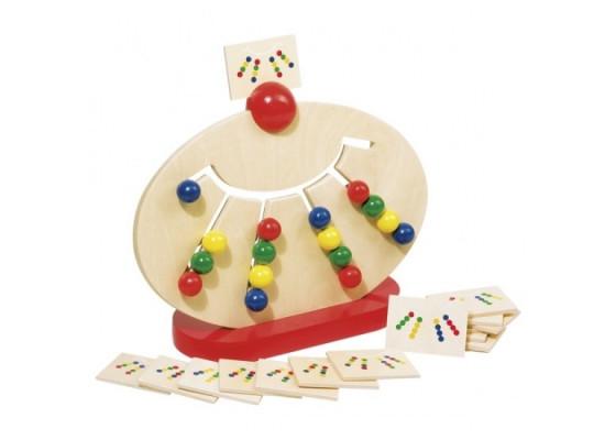 Развивающая игра goki Разноцветные шары 58970G