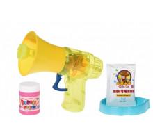 Мильні бульбашки Same Toy Bubble Gun Рупор зі світлом жовтий 925AUt-1