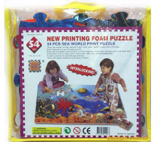Коврик-пазлы Подводный мир, 54 элемента (110P-PN Puzzle World)