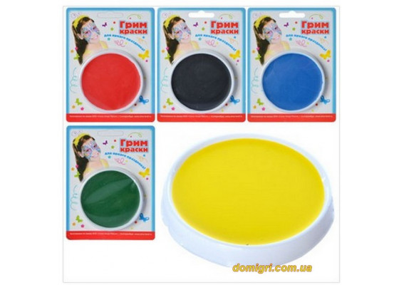 Грим-краски, 1 цвет (MK 0549)