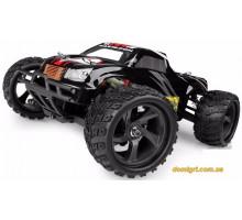 Машинка Монстр 1:18 Mastadon Brushed, черный (E18MTLb Himoto)