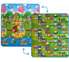 Дитячий килимок 2 в 1 Ведмедики і Прогулянка з друзями (LP002-150 Limpopo)