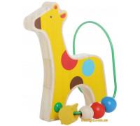 Лабиринт с бусинками Жираф (LL128 Lucy and Leo)