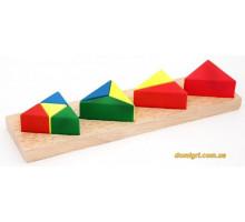 Вкладиші Дробу. Трикутник (Д146 МДІ)
