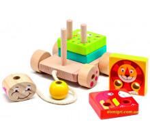 Паровозик Чух-Чух, Мир деревянных игрушек
