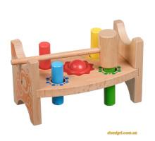 Стучалка Шарик и гвоздики, Мир деревянных игрушек