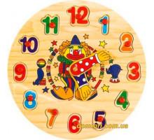 Часы Цифры, Мир деревянных игрушек