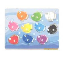 Вкладиші Рибки, Світ дерев'яних іграшок