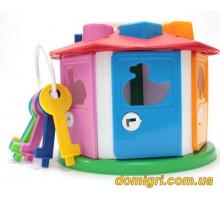 Куб Умный малыш Домик (2438 ТехноК)