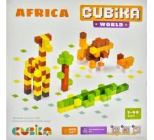 Деревянный конструктор World Африка (15306 Cubika)