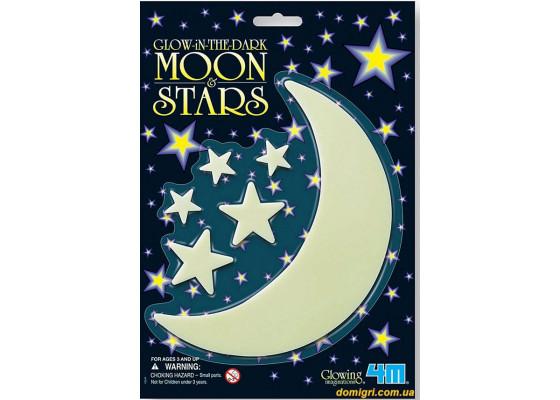 Месяц и 5 звезд (00-05229 4М)