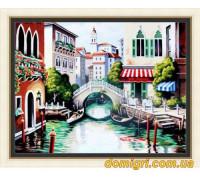 Рисование по номерам - Городской пейзаж - Венеция (MG175 Идейка)