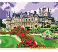 Рисование по номерам - Загородный дом - Великолепный замок (MG105 Идейка)