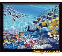 Рисование по номерам - Животные, птицы - В Красном море (G048 Идейка)
