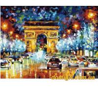 Рисование по номерам - Городской пейзаж - Ночные огни (MG1018 Идейка)
