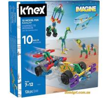Набор для конструирования 10 моделей (17009 K'NEX)