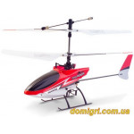 Вертолёт 4-к микро р/у 2.4GHz Xieda 9998 соосный (красный)