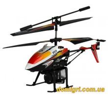 Вертолёт 3-к микро и/к SPRAY водяная пушка (оранжевый)