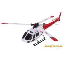 Вертоліт 3D мікро 2.4 GHz WL Toys V931 FBL безколекторний (червоний)