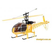 Вертоліт 4-до великої р/у 2.4 GHz WL Toys V915 Lama (жовтий)