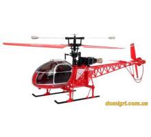 Вертоліт 4-до великої р/у 2.4 GHz WL Toys V915 Lama (червоний)