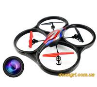 Квадрокоптер большой р/у 2.4GHz WL Toys V262 Cyclone с камерой