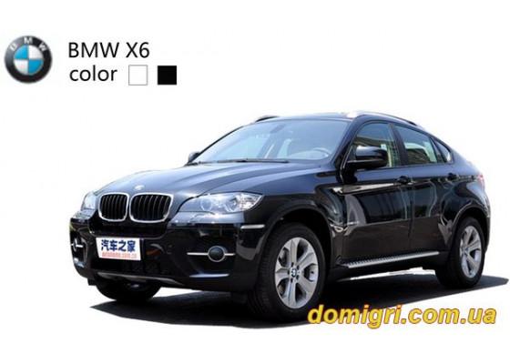 Машинка микро р/у 1:43 лиценз. BMW X6 (черный)